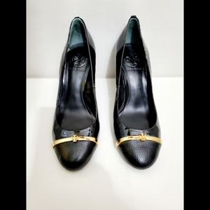 Tory Burch Black Patent Leather High heels